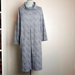 Tyler boe houndstooth knit shift dress